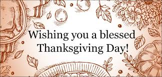 a month of gratefulness