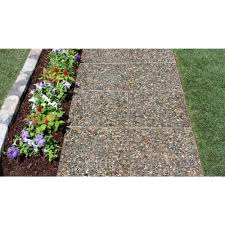 Decorative Stepping Stones Home Depot by 6 Ft X 6 Ft Square Exposed Aggregate Step Stone Patio On A
