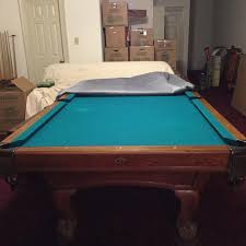Gandy Pool Table Prices by Find More Gandy 8 Ft Slate Bed Oak Pool Table Made In Macon Ga
