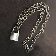 lock necklace punk images Punk lock chain offthelicks jpg