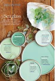 sea glass teal paint palette better homes and gardens for the