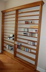 Dvd Shelf Woodworking Plans by Custom Dvd Cd Wall Shelf Unit Dutch Haus Custom Furniture