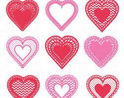 heart doily doily clip etsy studio