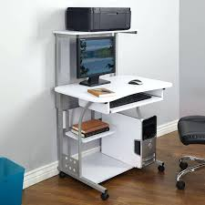 Small Laptop And Printer Desk Small Compact Computer Desk Desksmall Table For Room Mini Office