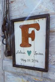 rustic wood signs fixer upper home decor farmhouse sign letter