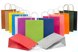 custom paper shopping bags with handles gift paper bags clothing