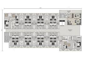 floor plan hotel hotel 8115 m2 prefabricated solutions