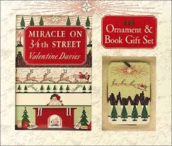 miracle on 34th gift set ornament book by