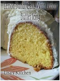 lemon bundt cake with lemon butter icing recipe just a pinch