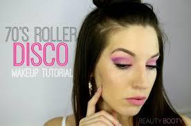 70 u0027s roller disco makeup halloween tutorial