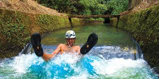 Hawaii rivers images Only in paradise can you go tubing down a natural lazy river jpg