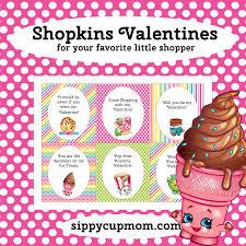 Mcdonalds Invitation Card Free Printable Shopkins Valentine U0027s Day Cards Sippy Cup Mom