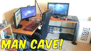 Ergocraft Ashton L Shaped Desk Gaming L Shaped Desk With Setup The Of Gamer Desks For