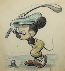 a drawing of mickey mouse for colliers weekly by walt disney