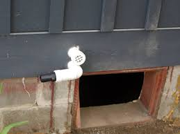 sump pump install cabin diy