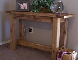Diy Console Table Ana White Tryde Console Table Diy Projects