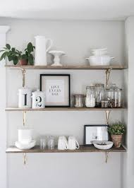 kitchen shelves design ideas open wall shelves for kitchen lovely home design ideas and pictures