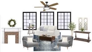 Modern Living Room Designs 2017 Modern Colonial Living Room Design Plan Bless U0027er House