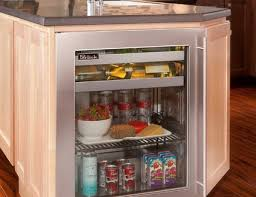 kitchen island with refrigerator luxurious undercounter refrigerators the new must in modern