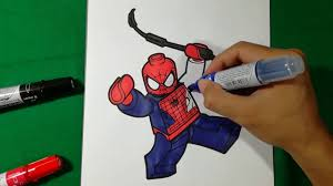 lego spiderman spinning web coloring pages sailany coloring kids