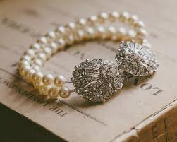 bracelet style vintage images Oyster clasp pearl vintage style rhinestone bracelet oyster jpg