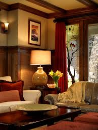 living room craftsman home interior paint colors arts and crafts