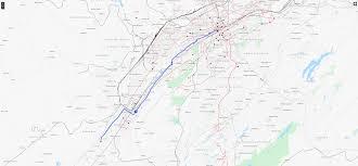 Chelsea Map Route 1 U2013 South Bessemer U2013 Max Transit U2013 Birmingham Jefferson