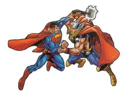 who wins thor vs superman battles comic vine
