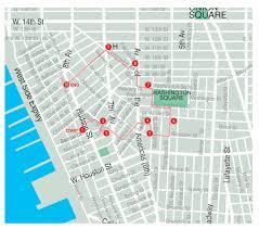 Street Map Of Nyc Minetta Lane Mediahistoryny