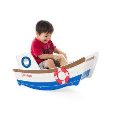 wooden rocking boat by oskar u0026 catie notonthehighstreet com