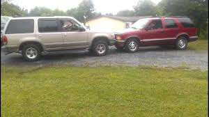 ford explorer vs chevy tahoe ford explorer vs chevy blazer