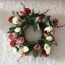 2017 new looking silk wedding flower wreath garland w
