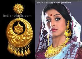 bengali gold earrings indian blush traditional bengali gold wedding jewellery part ii