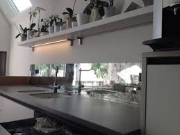 Kitchen Splashbacks Ideas Mirror Splashback In Kitchen Aga Antique Mirror Splashback In Kitchen