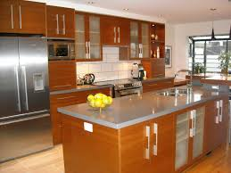 Cabinet Door Panel Outstanding Kitchen Cabinet Islands Designs With Frosted Glass