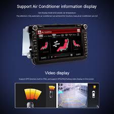 8 u0027 u0027 car dvd player radio stereo gps nav unit for vw passat b6 golf