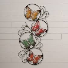 decoration metal butterfly wall decor home decor ideas