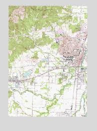 corvallis or topographic map topoquest