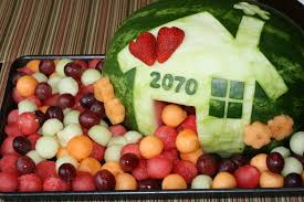 a housewarming fruit platter fun time thankful and trays