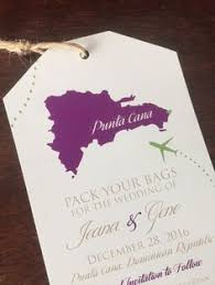 destination wedding save the date ideas destination luggage tag save the date magnets idea for a destination wedding