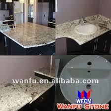 Granite Vanity Tops With Undermount Sink Bianco Carrara White Marble Slabs For Bathroom Ogee Edge Vanity