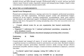 Event Coordinator Resume Sample by Tobacco Treatment Specialist Sample Resume