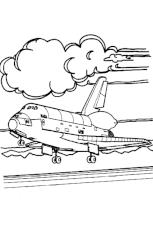 Coloriage porte avion sur Hugolescargotcom
