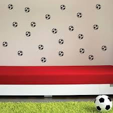 20x football soccer wall fridge phone stickers decal nursery kids image