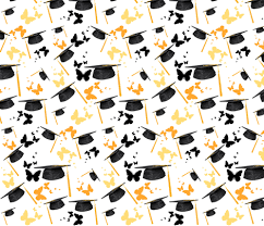 graduation wrapping paper graduation caps wallpaper bluevelvet spoonflower
