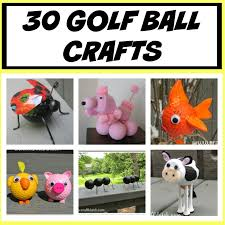 golf ball golf ball crafts how to how to make recycle