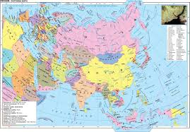 Physical Map Of Asia by In Terms Of Asia Are Very Different The Geography Of Continents
