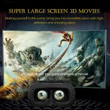 virtual reality vr box 3d glasses headset home theater game for
