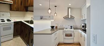 Condo Kitchen Remodel Before And After Before And After Kitchen