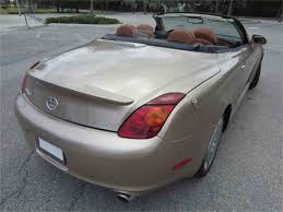 lexus sc430 interior colors 2003 lexus sc430 for sale classiccars com cc 987607